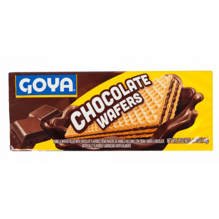 GALLETAS WAFER CHOCOLATE GOYA 140 gr