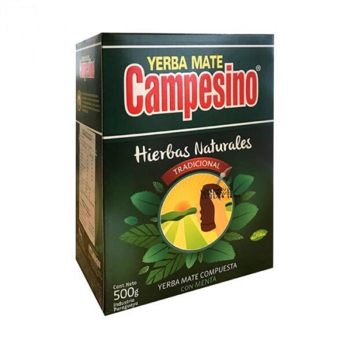YERBA MATE CAMPESINO HIERBA NATURAL 500 gr