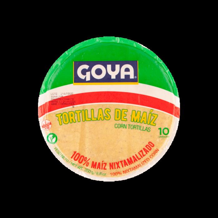 TORTILLAS DE MAIZ GOYA 250 gr