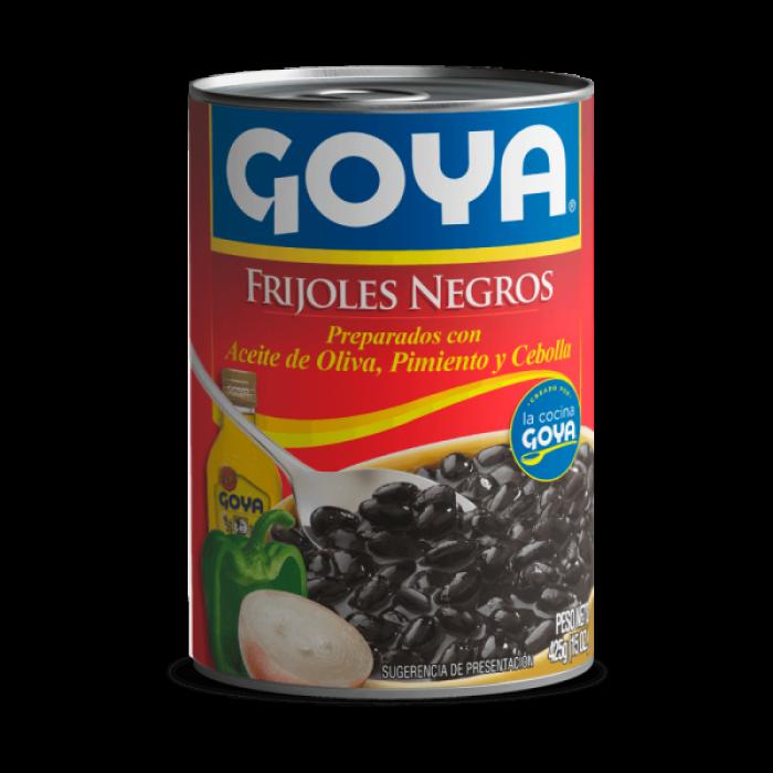 FRIJOLES NEGROS GUISADOS GOYA 425 g