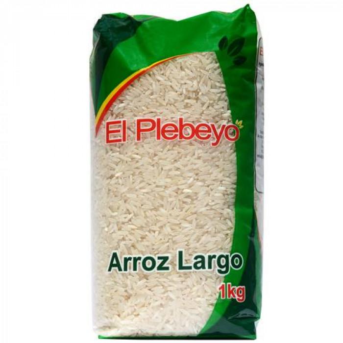 ARROZ LARGO EL PLEBEYO 1Kg