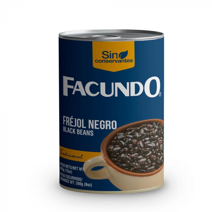 FEIJAO PRETO FACUNDO 425 gr