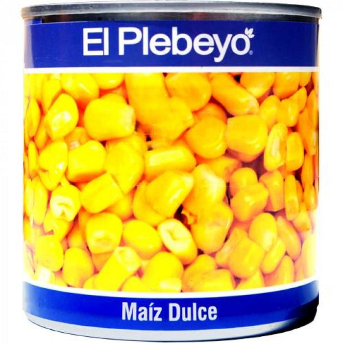 MAIZ DULCE EL PLEBEYO 300 gr