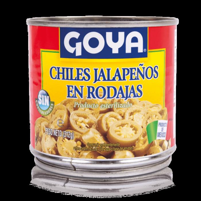 CHILES JALAPENOS EN RODAJAS 312gr
