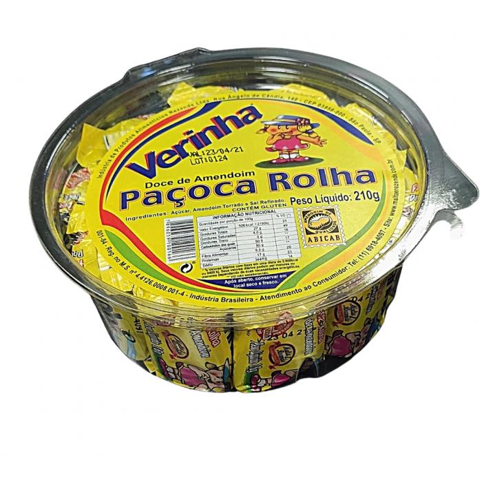 PACOCA ROLHA VERINHA 210 gr