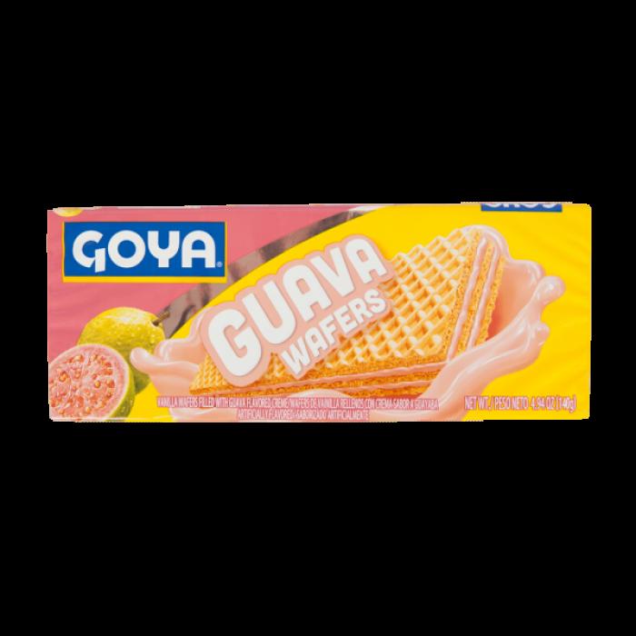 GALLETAS WAFER GUAYABA GOYA 140 gr