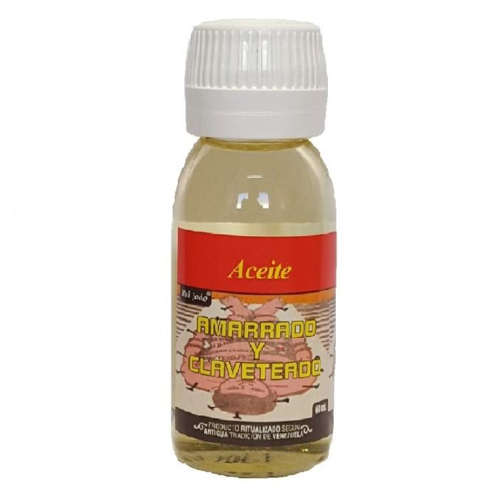 ACEITE AMARRADO Y CLAVETEADO 60 ml