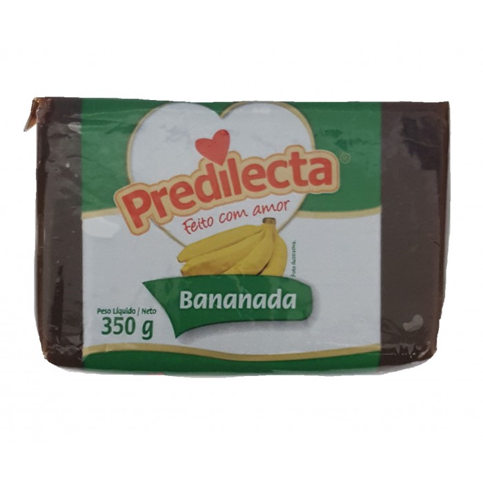 BANANADA PREDILECTA 350 gr