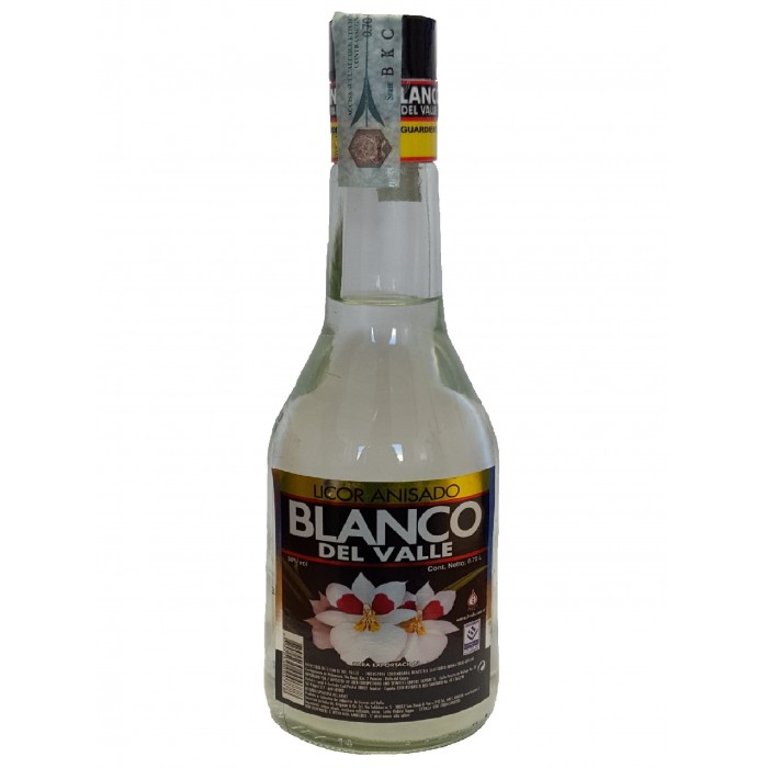 AGUARDIENTE BLANCO DEL VALLE 700 ml