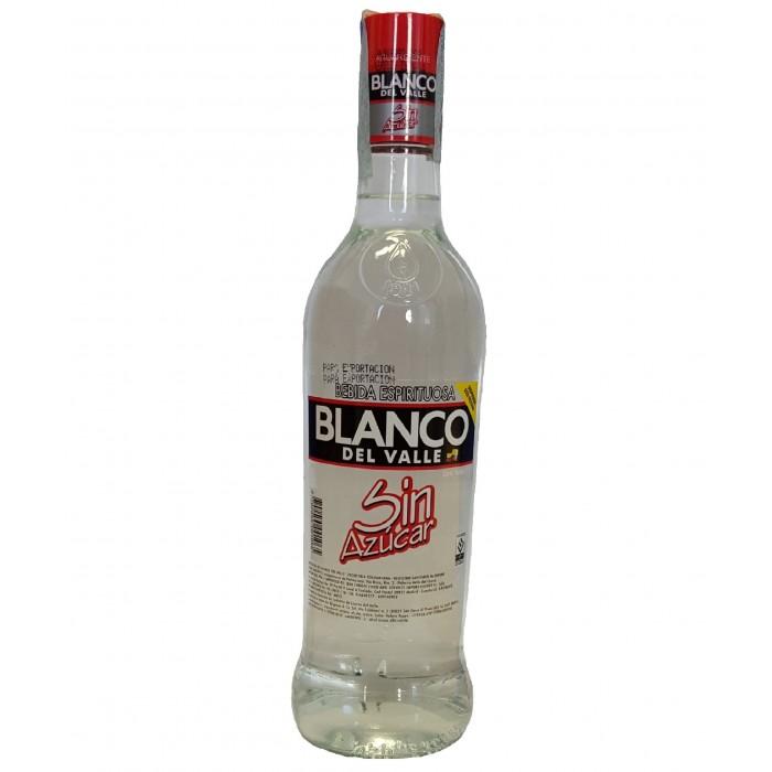 AGUARDIENTE BLANCO DEL VALLE SUGAR-FREE 700 ml