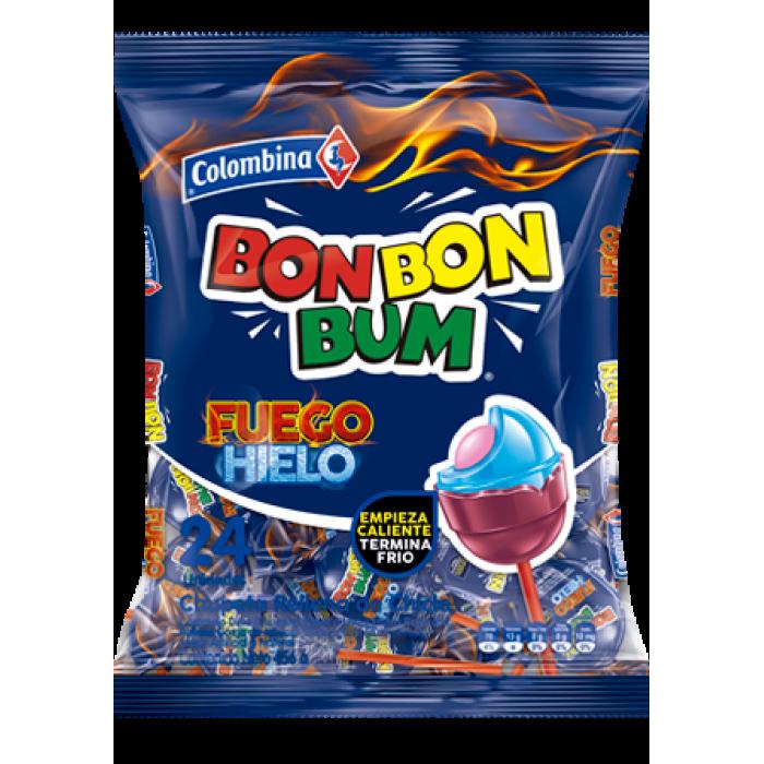 BON BON BUM FUEGO HIELO COLOMBINA 408gr