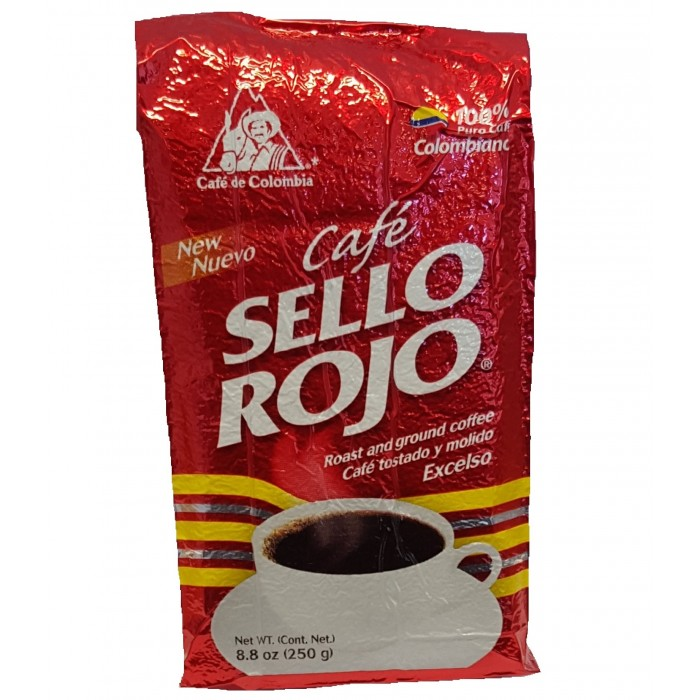 CAFE' SELLO ROJO 250 gr