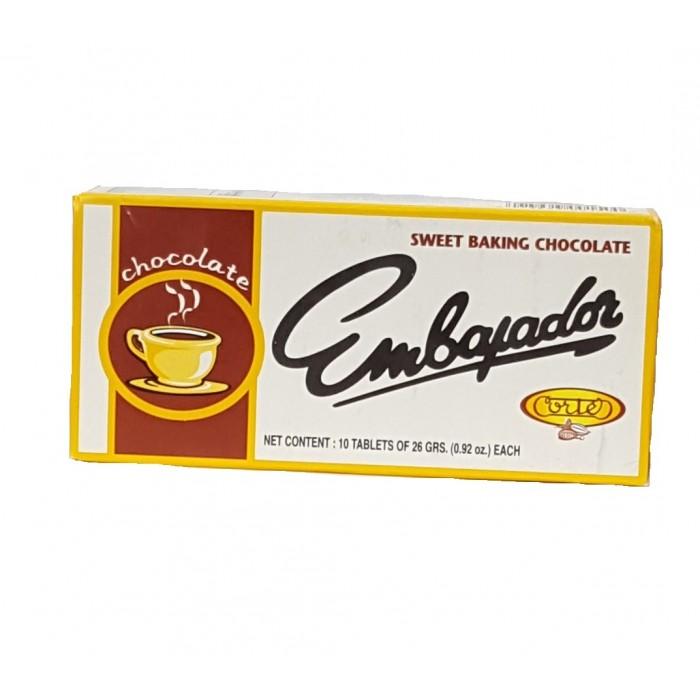 PREPARED CHOCOLATE EMBAJADOR 260 gr