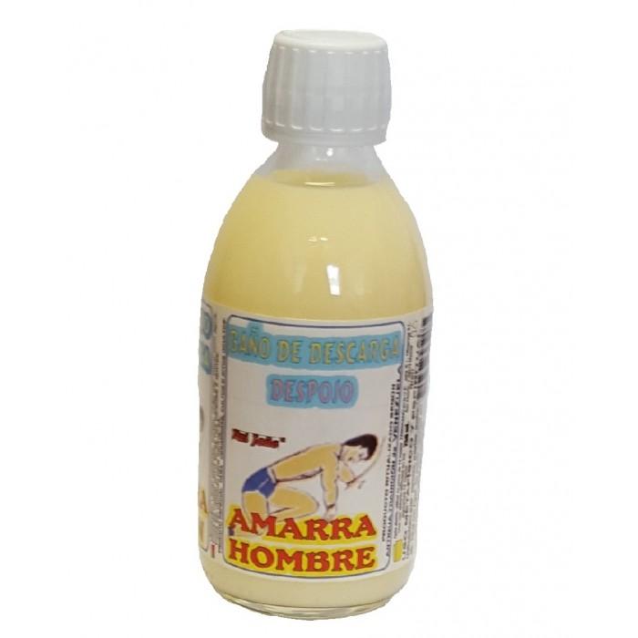 BANO DE DESCARGA DESPOJO AMARRA HOMBRE 250 ml