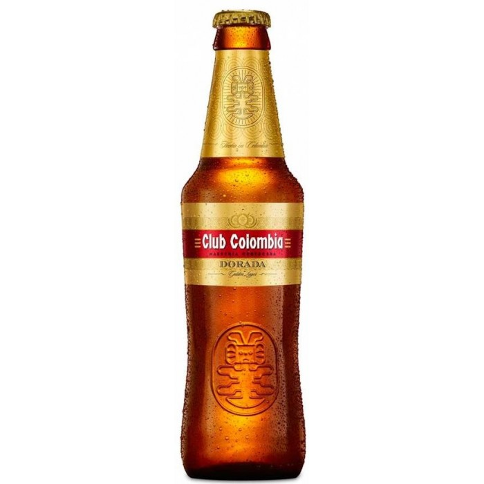 BEER GOLD CLUB COLOMBIA 330 ml