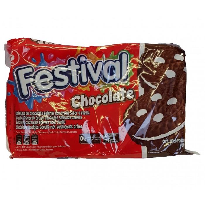 BISCUITS FESTIVAL CHOCOLATE NOEL 403 gr