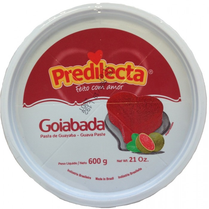 CANDIED GUAVA PREDILECTA 600 gr