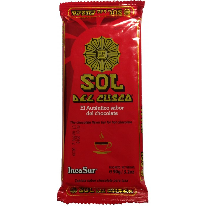 CHOCOLATE SOL DE CUZCO 90gr