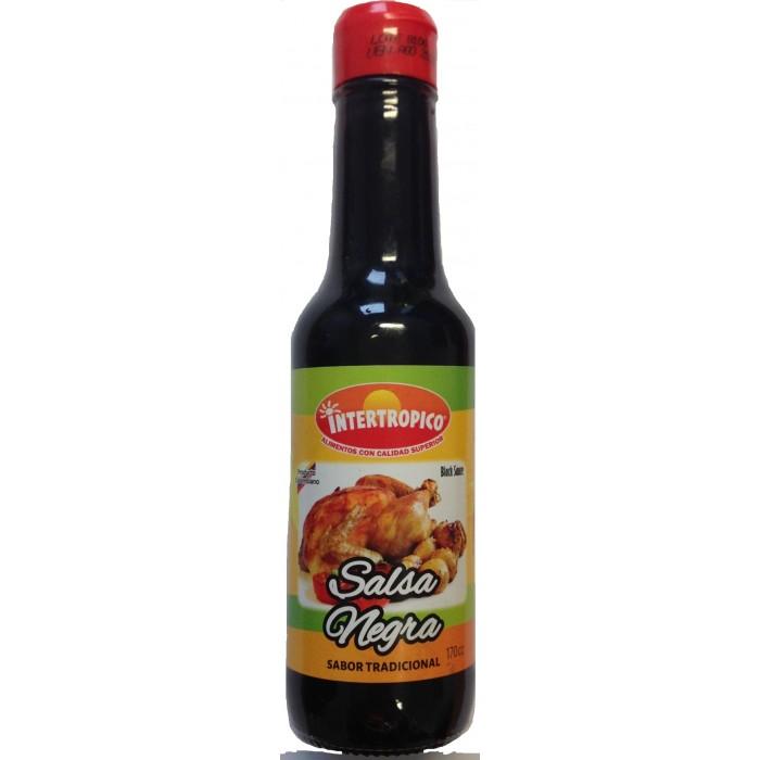 BLACK SAUCE INTERTROPICO 170 ml