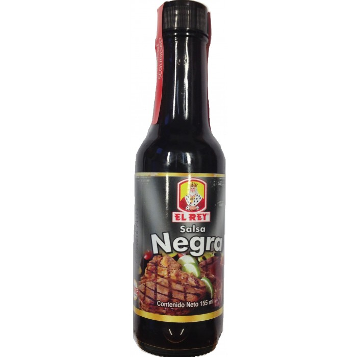 SALSA NEGRA EL REY 155 ml