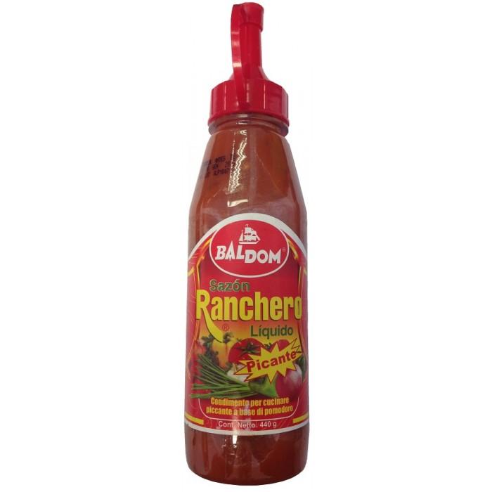 SAZON RANCHERO LIQUIDO PICANTE BALDOM 450 ml