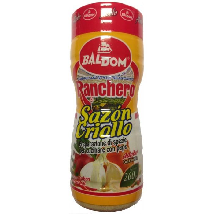SAZON CRIOLLO RANCHERO CON PIMIENTA BALDOM 260 gr