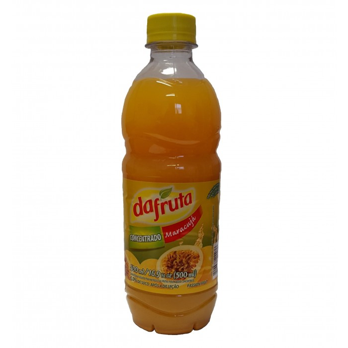 CONCENTRATED JUICE PASSION FRUIT DAFRUTA 500 ml