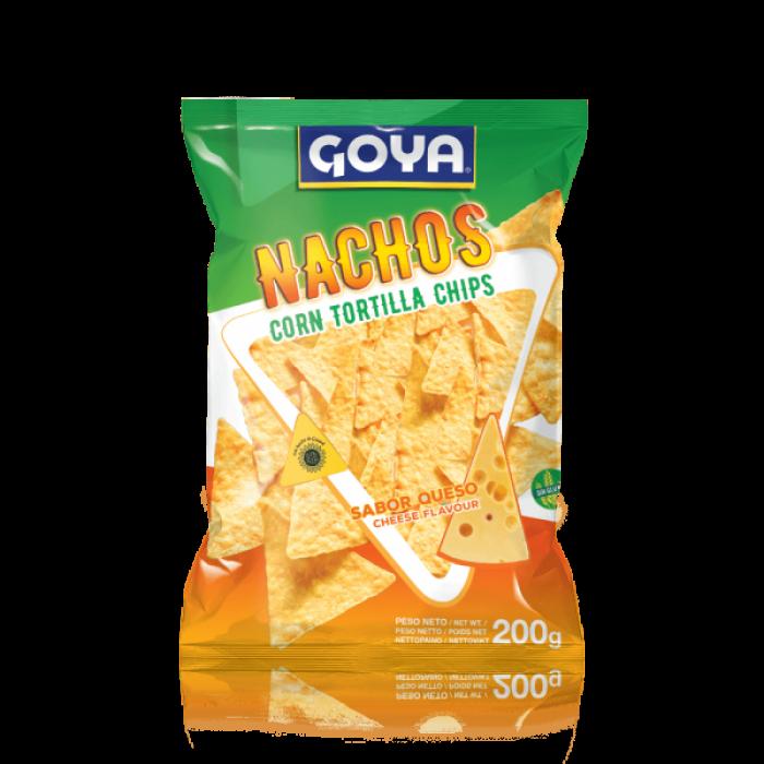 NACHOS MAIZ SABOR QUESO GOYA FUNDA 200 gr