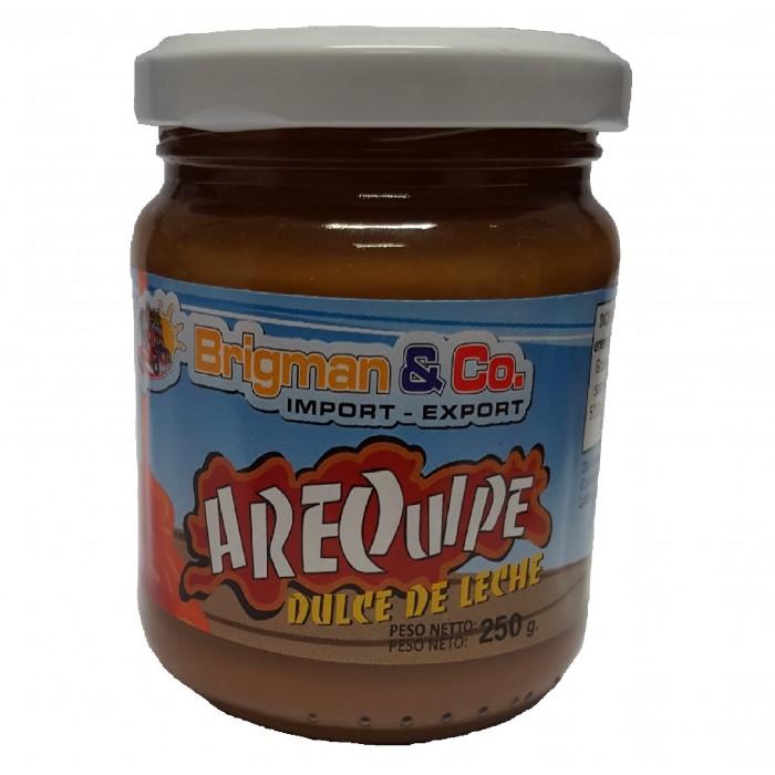 DULCE DE LECHE AREQUIPE BRIGMAN 250 gr
