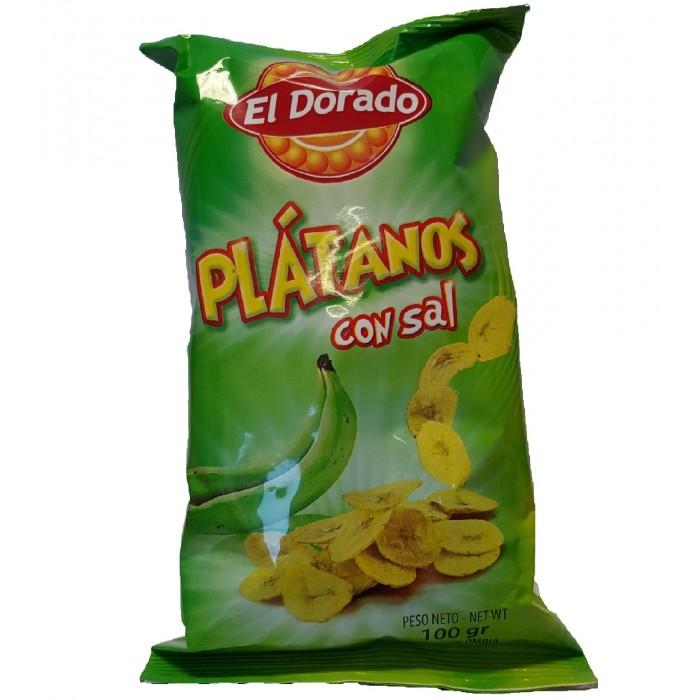 SALTED PLANTAIN EL DORADO 100 gr