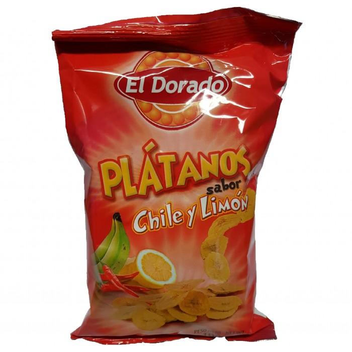 BANANAS LIMON E CHILLI EL DORADO 100 gr