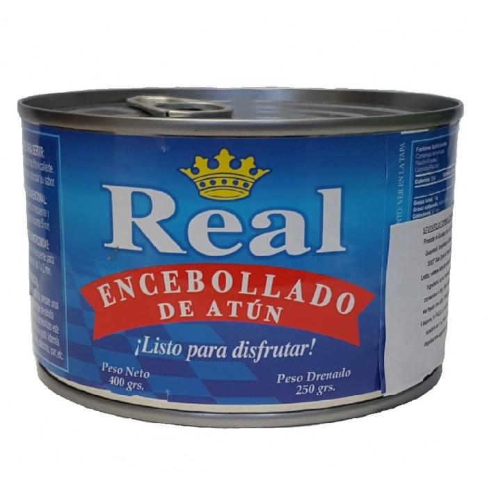 ENCEBOLLADO DE ATUN REAL 400 gr