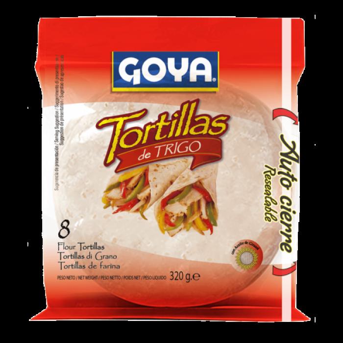 TORTILLAS DE TRIGO GOYA 320 gr