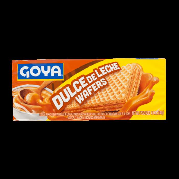 GALLETAS WAFER DULCHE DE LECHE GOYA 140 gr
